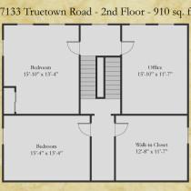 17133 Truetown floor plan - second floor