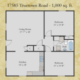 17585 Truetown floor plan