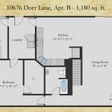10676 Dorr apt B floor plan