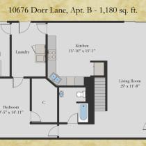 10676 Dorr apt B floor plan