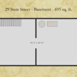 29 State floor plan - basement