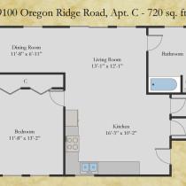 9100 Oregon Ridge Apt C floor plan