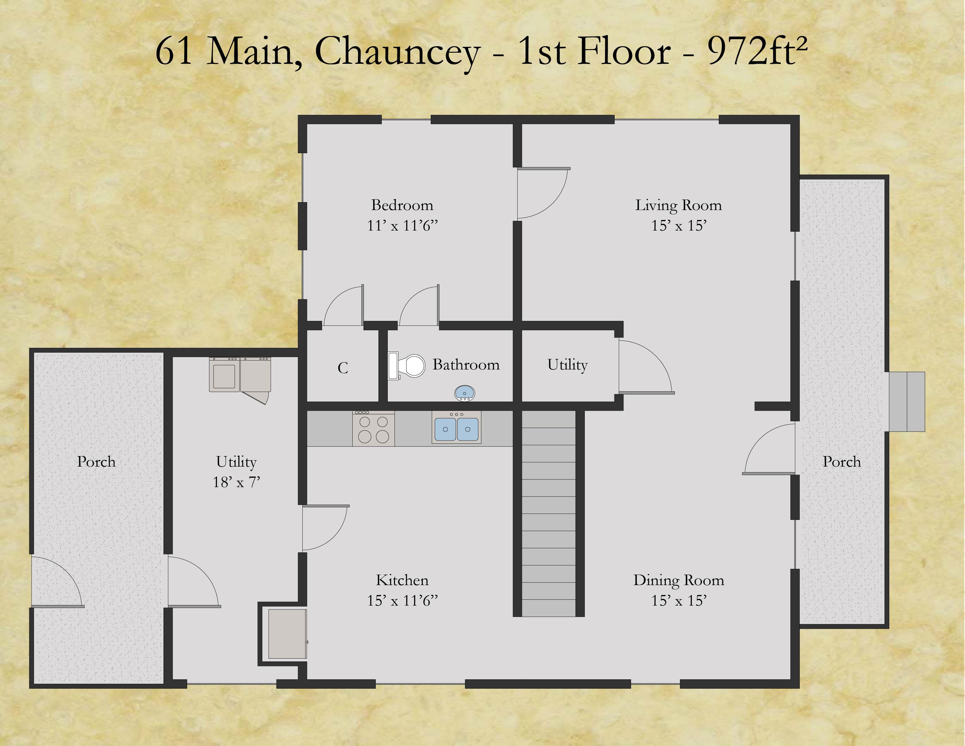 61 Main Chauncey Capstone Properties Athens Ohio