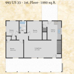 995 Darwin floor plan - first floor