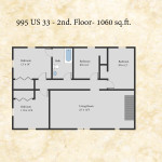 995 Darwin floor plan - second floor