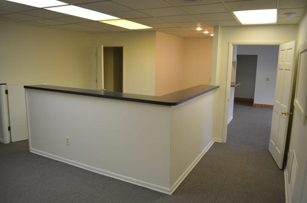 141 Columbus reception area