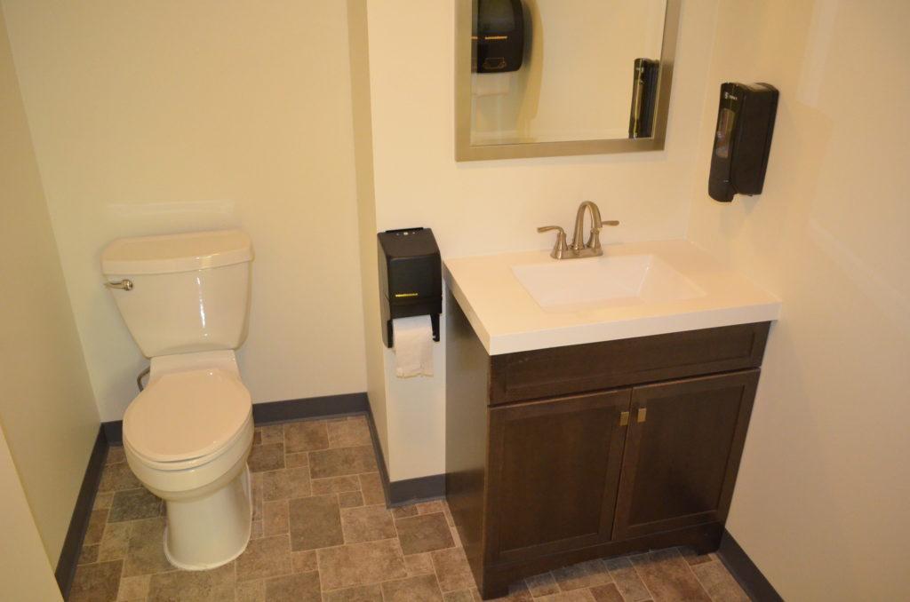 141 Columbus 1st floor restrooms